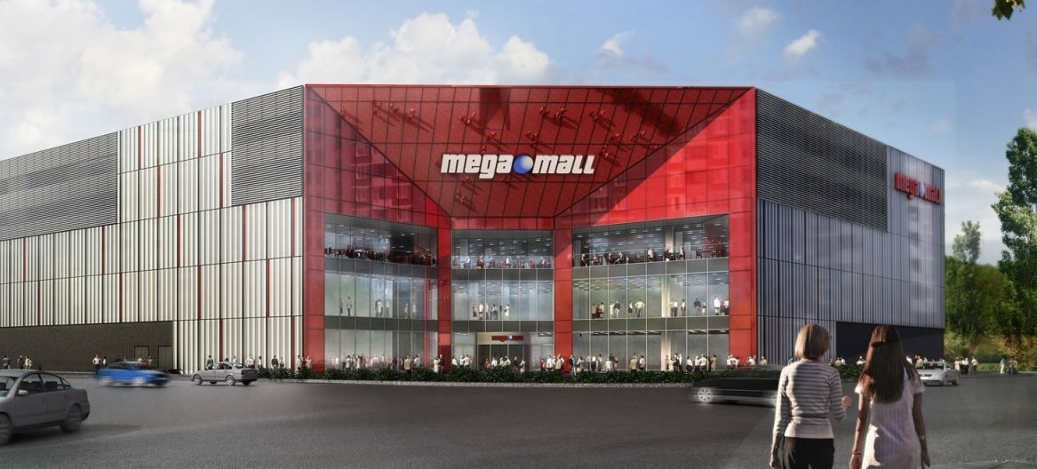 Mega Mall Shoping Structure